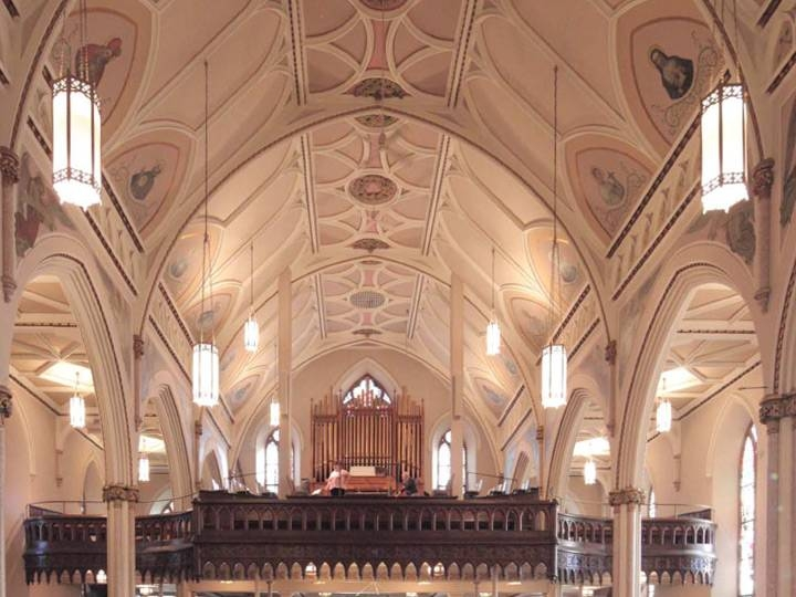St Peter's Church Led Lighting Retrofits | Grand Light Throughout Church Pendant Lighting (#14 of 15)