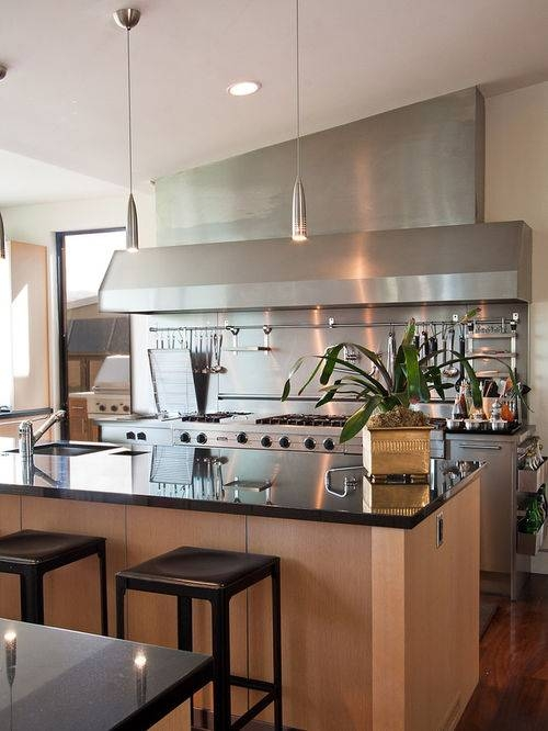 Stainless Steel Pendant Lights | Houzz Pertaining To Stainless Steel Pendant Lights For Kitchen (#14 of 15)