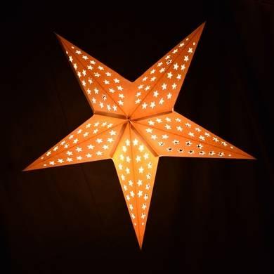 Star Lantern White Pendant Light Lamp Cord, E12 Base, 11 Ft On Intended For Paper Star Pendant Lights (#13 of 15)