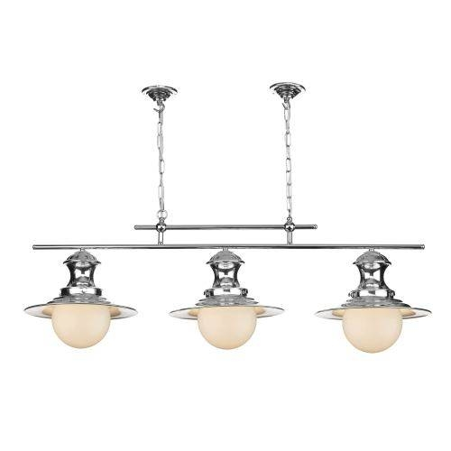 Station 3 Light Traditional Pendant | The Lighting Superstore Intended For 3 Lights Pendant Fitter (View 3 of 15)