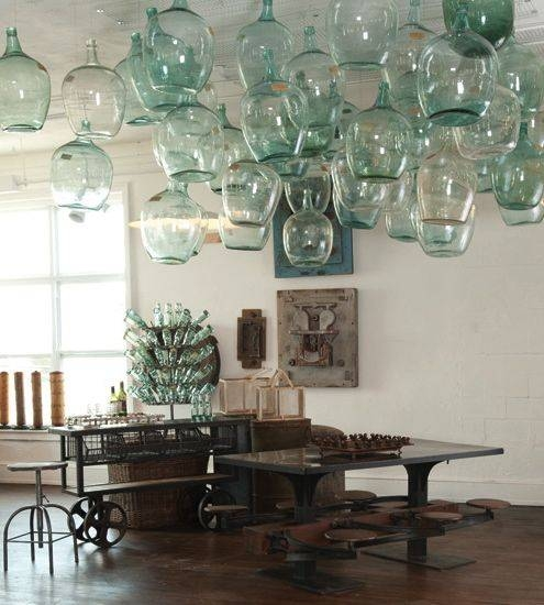 Store To Abode Fridays #2 – Demijohns | The Old Lucketts Store With Regard To Demijohn Pendant Lights (#13 of 15)