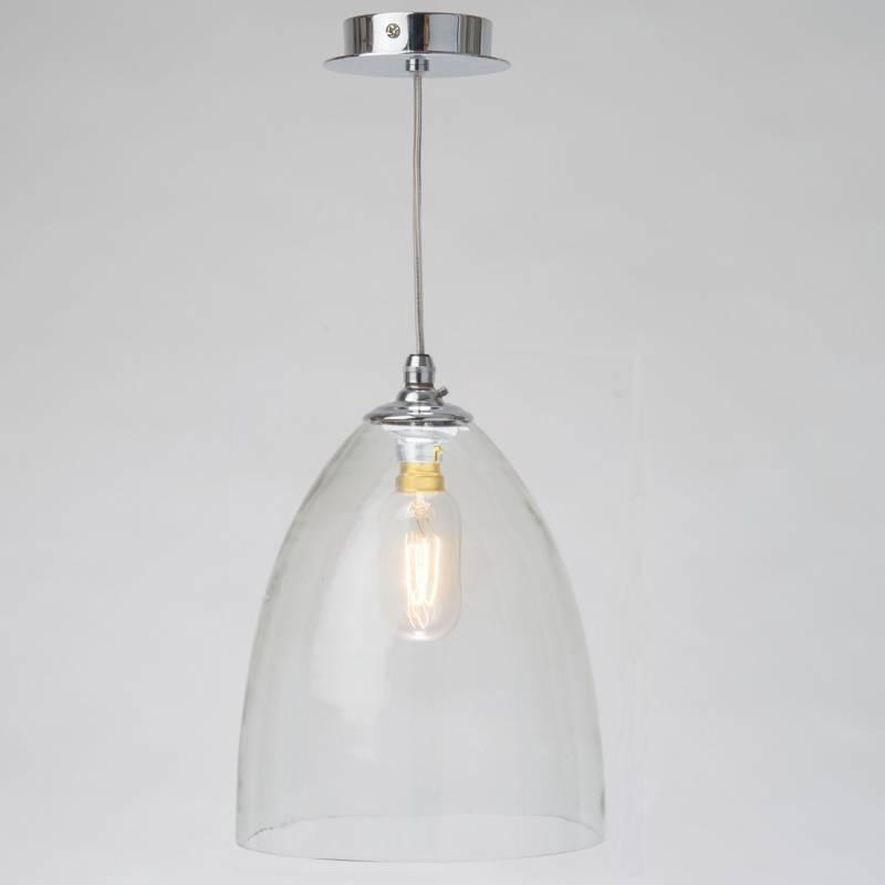 Striking Hand Blown Glass Shade Pendant Lights | Tuscanor Lighting Within Glass  Pendant Lights Shades Uk - 15 Best Ideas Of Glass Pendant Lights Shades Uk