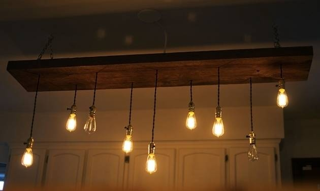 Popular Photo of Diy Suspension Cord Pendant Lights