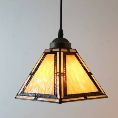 Stunning Stained Glass Pendant Light Fashion Style Mini Pendant Pertaining To Coloured Glass Lights (#15 of 15)