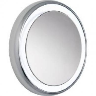 Tech Lighting 700Bctigrs32S 9 Light Tigris Round Bathroom Mirror Pertaining To Tech Lighting Australia (#14 of 15)