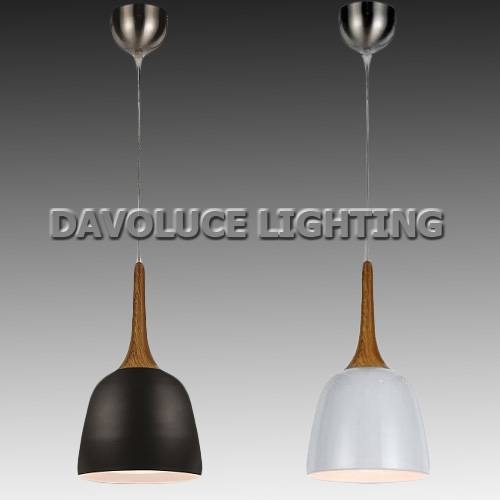 Telbix Polk 20 Oak White, Oak Black Modern Pendant From Davoluce In Modern Pendant Lights Sydney (#15 of 15)