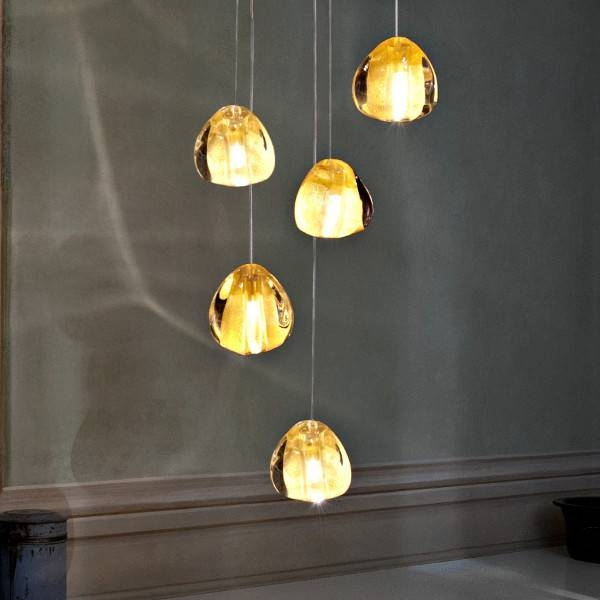 Terzani Mizu 5 Pendant Light Inside Mizu Pendant Lights (#14 of 15)
