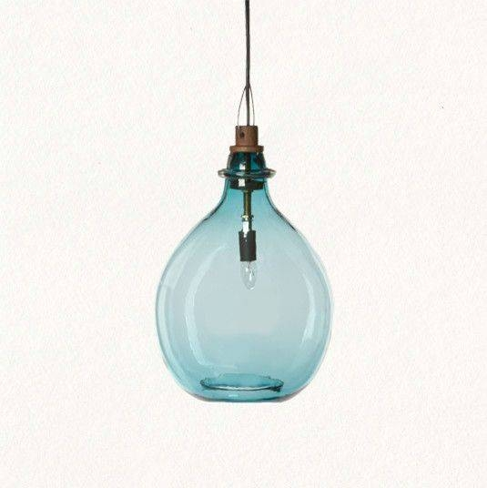 The Best Glass Jug Pendant Lights – Dwfields Throughout Glass Jug Pendants (View 15 of 15)