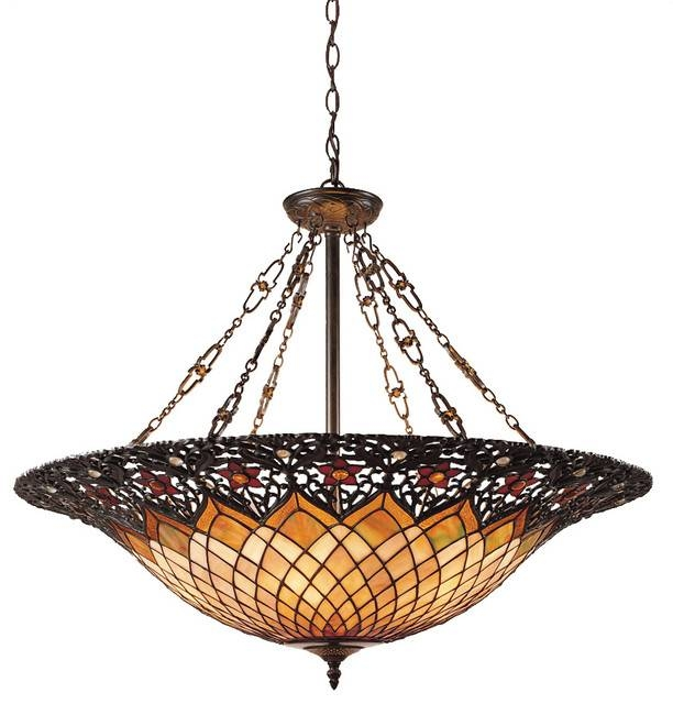 Tiffany, Adriana, Vintage Bronze – Victorian – Pendant Lighting For Victorian Pendant Lights (View 11 of 15)