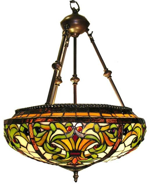 Tiffany Style Classic Hanging Lamp – Victorian – Pendant Lighting Inside Victorian Pendant Lighting (View 12 of 15)