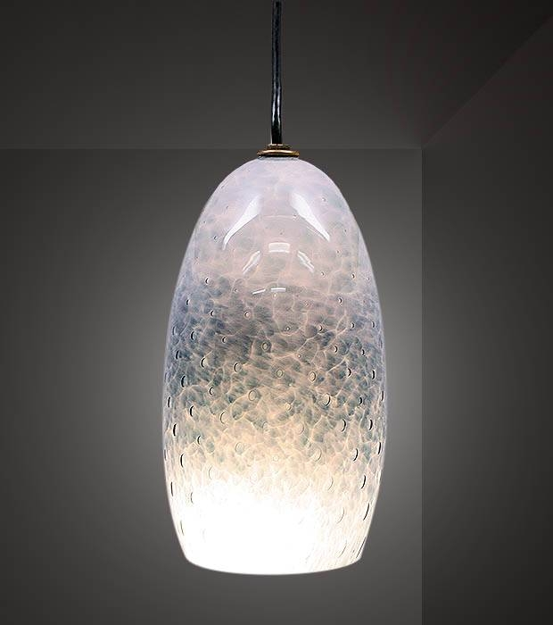 Popular Photo of Bubble Glass Pendant Lights