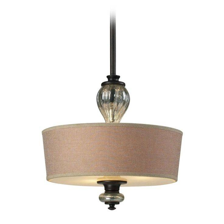 top 25 best drum pendant lights ideas on pinterest drum throughout brown drum pendant