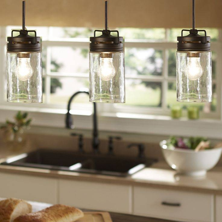Top 25+ Best Rustic Pendant Lighting Ideas On Pinterest | Kitchen In Rustic Clear  Glass