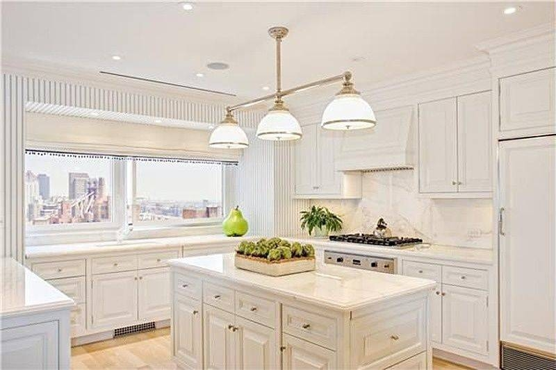 Traditional Kitchen With Custom Hood & Flush | Zillow Digs | Zillow With Regard To Landmark Lighting Chadwick Pendants (#15 of 15)