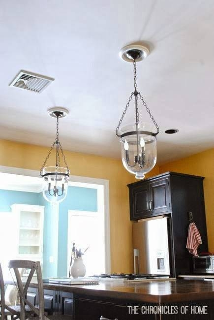 Tutorial} How To Convert Recessed Lights To Pendants – The Within Recessed Lights Pendants (View 3 of 15)