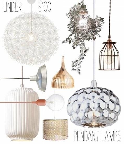 Inspiration about Under $100: Pendant Lamps – Design*sponge Inside Inexpensive Pendant Lights (#5 of 8)