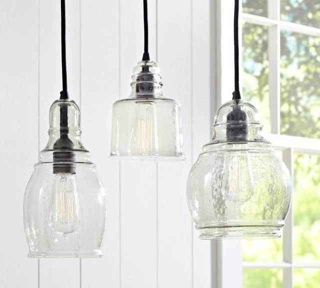 Inspiration about Unique Glass Pendant Lights Paxton Glass Single Pendants Pottery In Unique Glass Pendant Lights (#8 of 15)