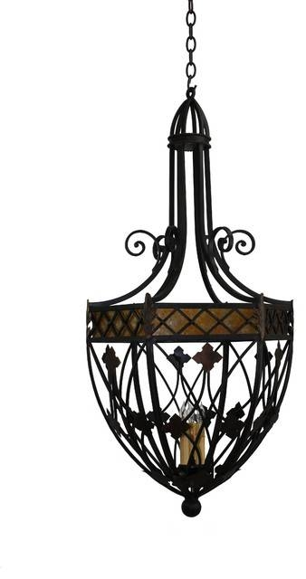 Inspiration about Unique Iron Pendant Light Black Industrial Type One Light Wrought For Black Wrought Iron Pendant Lights (#14 of 15)