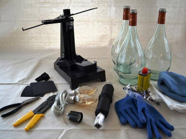 Inspiration about Upcycle Wine Bottle Into Pendant Light Fixtures | How Tos | Diy For Wine Bottle Pendants (#4 of 15)