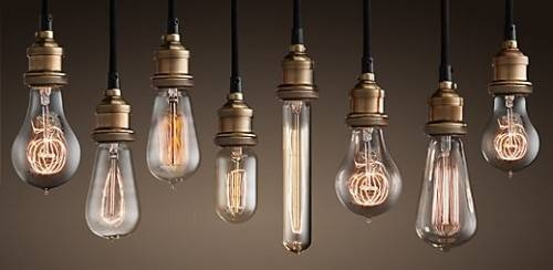 Inspiration about Upgrade Your Light Fixtures With One Simple Change – Makely For Bare Bulb Lights Fixtures (#4 of 15)