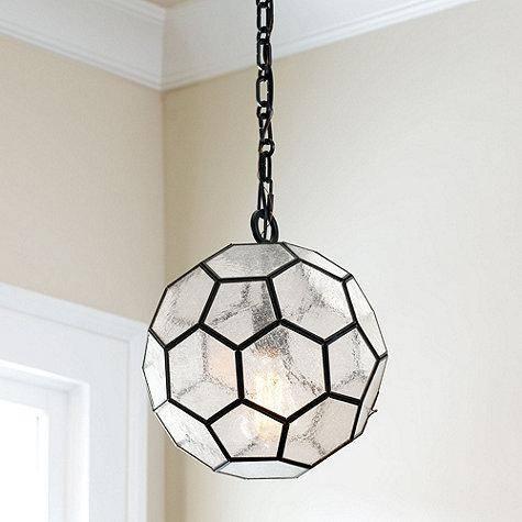 Inspiration about Urbanoutfitters > Honeycomb Glass Pendant Shade Regarding Honeycomb Pendant Lights (#2 of 15)