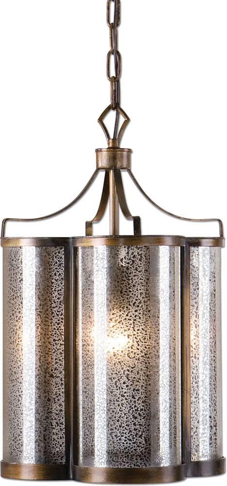 Uttermost 22061 Croydon Golden Oil Rubbed Bronze Pendant Lighting Intended For Uttermost Pendant Lights (#11 of 15)