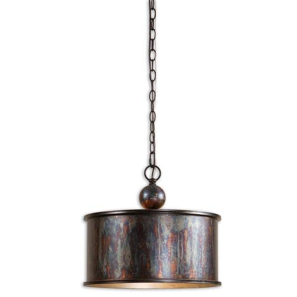 Uttermost Albiano 1 Light Oxidized Bronze Pendant – Free Shipping With Uttermost Pendant Lights (View 14 of 15)