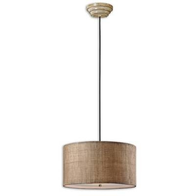 Uttermost Ck Generic 3 Light Dafina Drum Foyer Pendant & Reviews With Uttermost Pendant Lights (View 15 of 15)