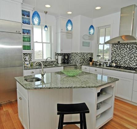 Inspiration about Vacationhousereview Is First Website To Offer Vacation Rental With Regard To Blue Pendant Lights For Kitchen (#5 of 15)