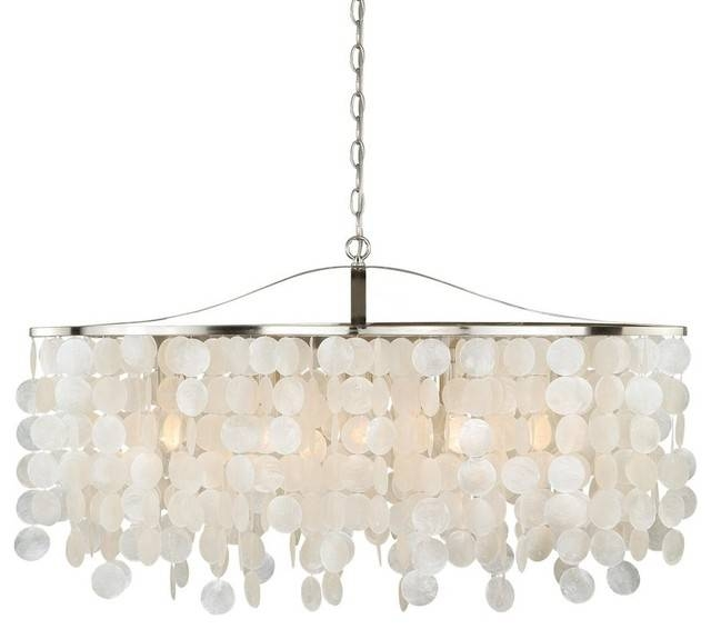 Vaxcel Lighting P0140 Elsa 5 Light Linear Pendant – Beach Style Pertaining To Beach Style Pendant Lights (View 14 of 15)