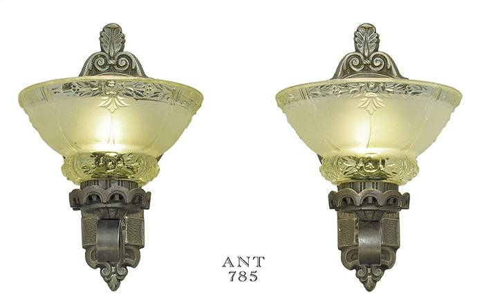 Vintage Hardware & Lighting – Antique Wall Sconces Edwardian With Edwardian Lights Fixtures (View 5 of 15)