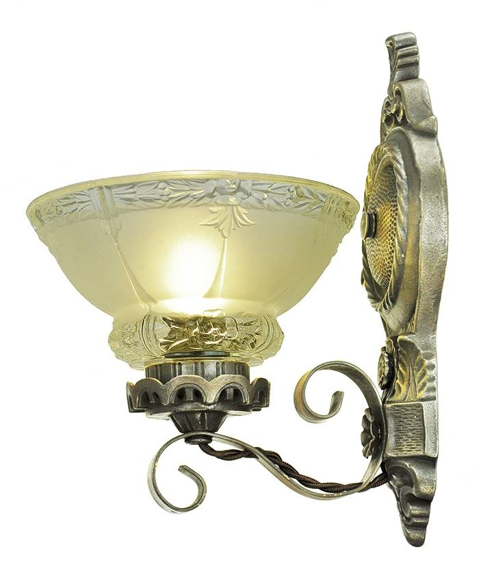 Vintage Hardware & Lighting – Antique Wall Sconces Edwardian With Edwardian Lights Fixtures (View 4 of 15)
