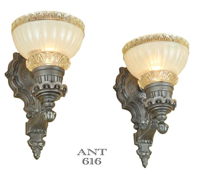 Inspiration about Vintage Hardware & Lighting – Edwardian Style Wall Sconces Within Edwardian Lights Fixtures (#10 of 15)