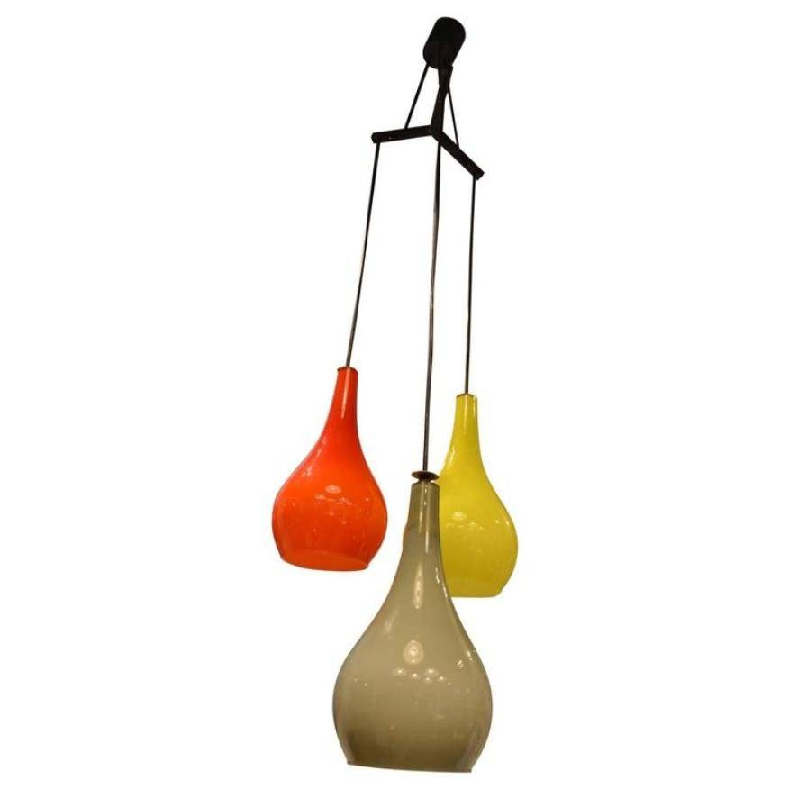 Vintage Murano Glass Pendant Light From Stilnovo For Sale At Pamono Inside Murano Pendant Lights (View 12 of 15)