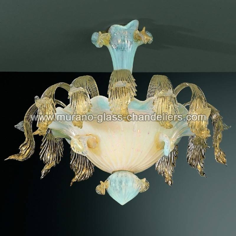 "Inspiration about Vivaldi"" Murano Glass Ceiling Light – Murano Glass Chandeliers With Regard To Murano Glass Ceiling Lights (#4 of 15)"