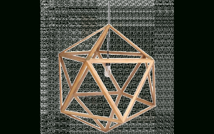Viyet – Designer Furniture – Lighting – Modern Wood Dodecahedron Throughout Dodecahedron Pendant Lights (View 11 of 15)