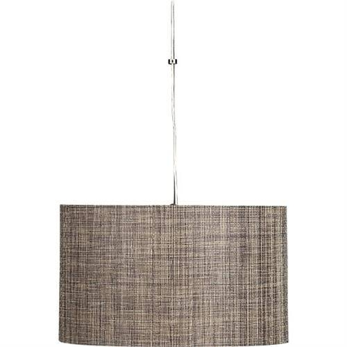 Weave Pendant Lamp From Crate & Barrel With Crate And Barrel Shades (#14 of 15)