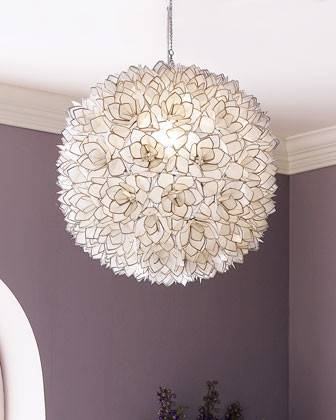Where Can I Buy This Light Shade In Australia With Regard To Shell Lights Shades Pendants (View 6 of 15)