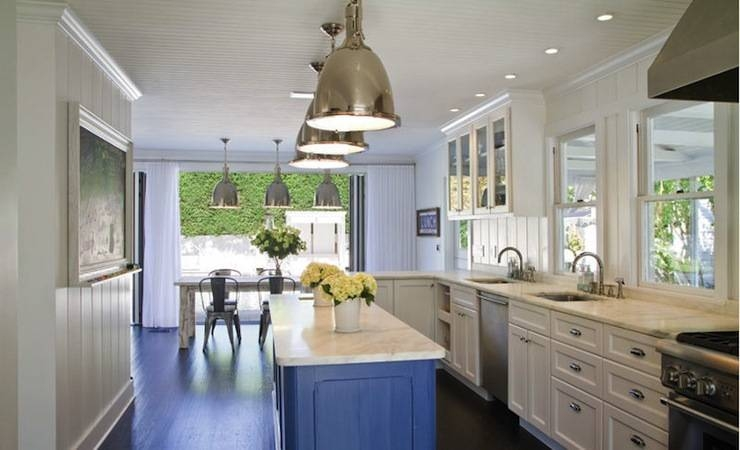 White Kitchen Cabinets – Transitional – Kitchen – Charlie & Co (View 4 of 15)