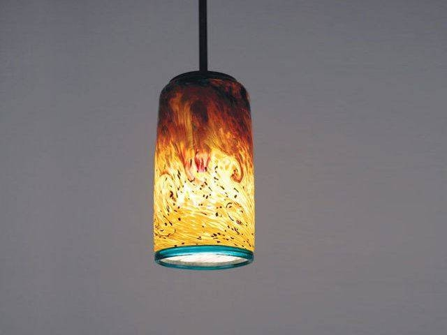 Whitney Blown Glass Pendant Light | Artisan Crafted Lighting Throughout Blown Glass Ceiling Lights (#15 of 15)
