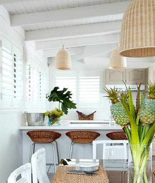 Wicker Basket Pendant Lights | Diy & Shop – Completely Coastal Intended For Rattan Pendant Lighting (#13 of 15)