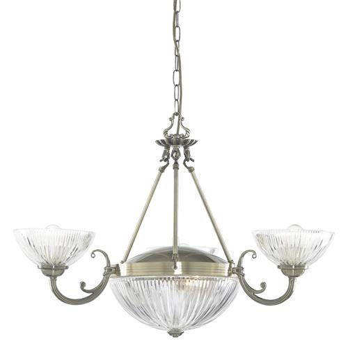 Windsor Multi Arm Pendant 4775 5Ab | The Lighting Superstore With Multi Arm Pendant Lights (#15 of 15)