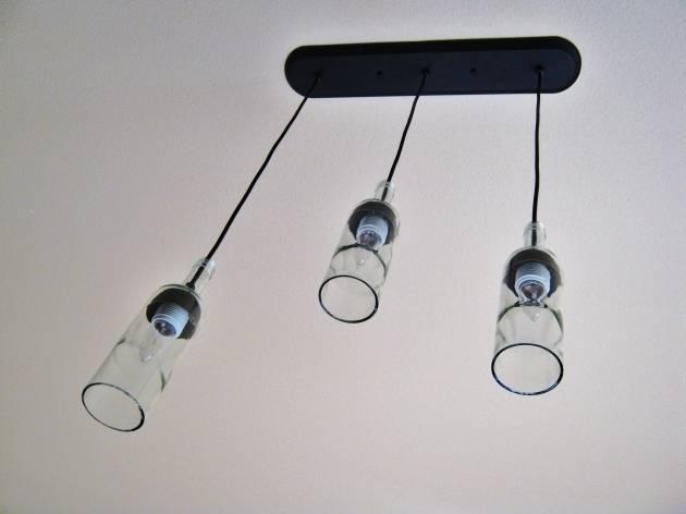 Wine Bottle Pendant Light Kit – Pendant Lighting Ideas For Led Pendant Light Kits (#15 of 15)