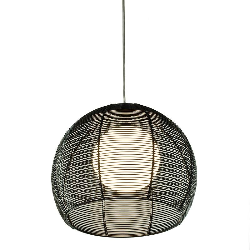 Wire Pendant Light – Jeffreypeak With Corded Pendant Lights (#15 of 15)