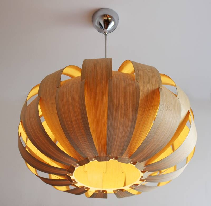 Wood Veneer Pendant Lamp P1020 55 Houseton Electric Co.,ltd (View 8 of 15)