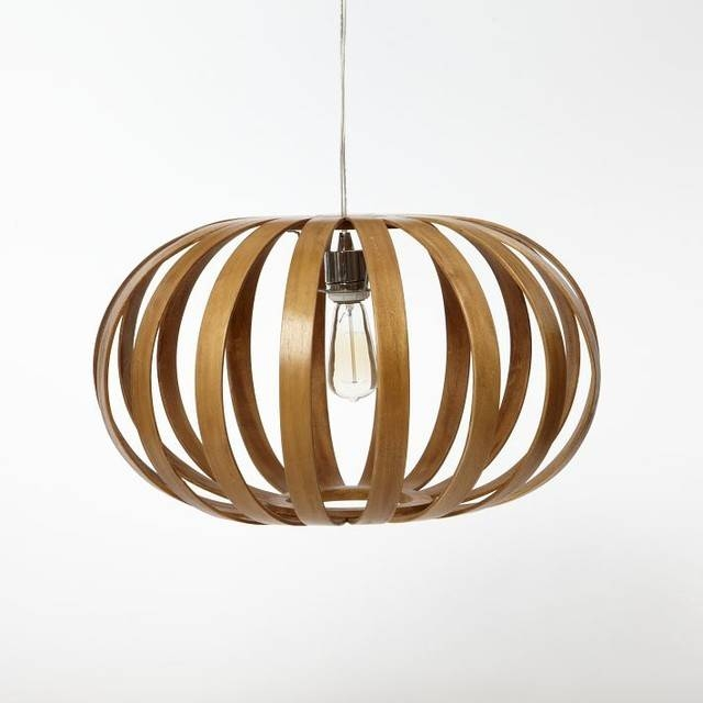 Wooden Pendant Lights | Roselawnlutheran For Bentwood Pendants (#15 of 15)