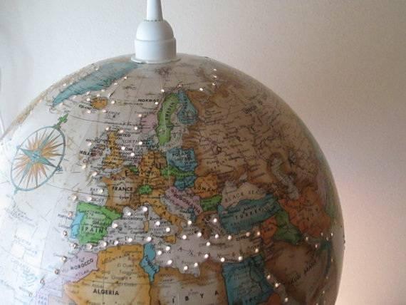 World Globe Pendant Light Ideas | Myarchipress Within World Globe Pendant Lights (View 5 of 15)
