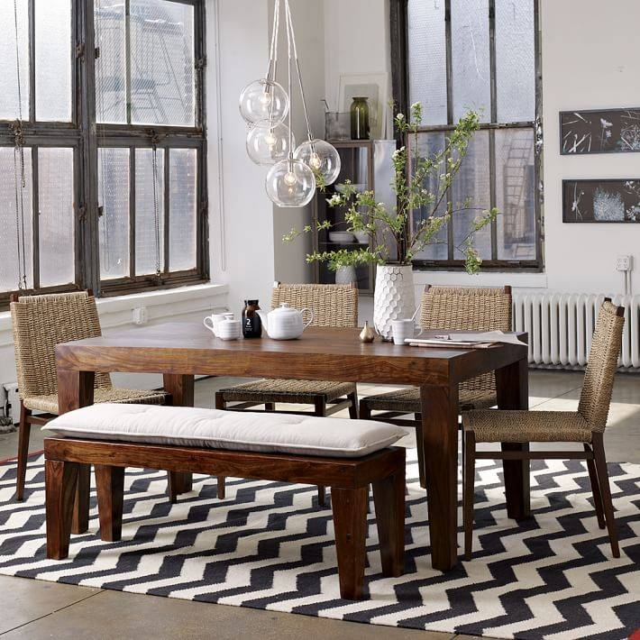 Inspiration about Zigzag Wool Rug – Iron | West Elm With West Elm Cluster Pendants (#5 of 15)