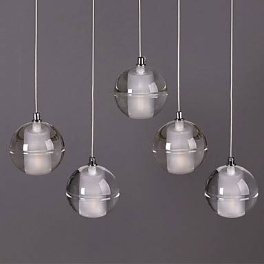 1 Light Crystal Glass Stone Dining Room Pendant Lamp Bar Cafe With Most Up To Date Crystal Pendant Lights Uk (#1 of 15)