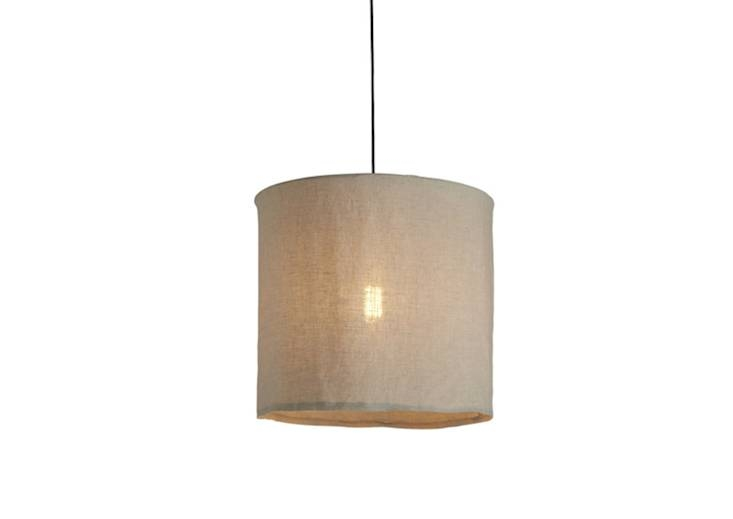 Inspiration about 10 Easy Pieces: Fabric Pendant Lamps – Remodelista Within Most Current Fabric Pendant Lamps (#15 of 15)